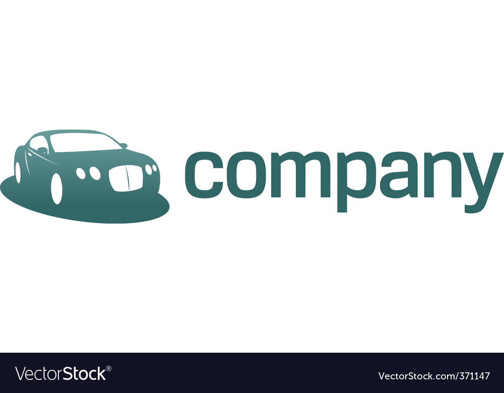 Luxury car logo  transport vector