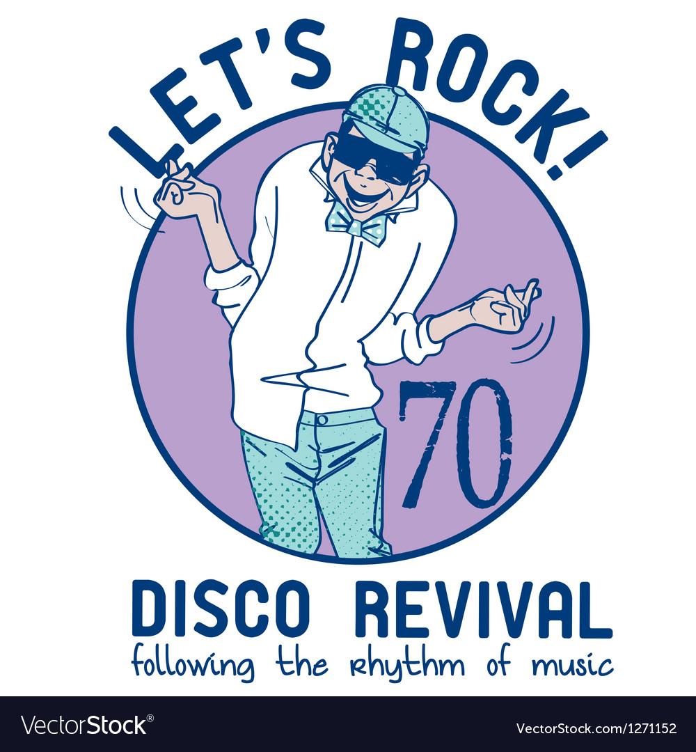Let s rock vector