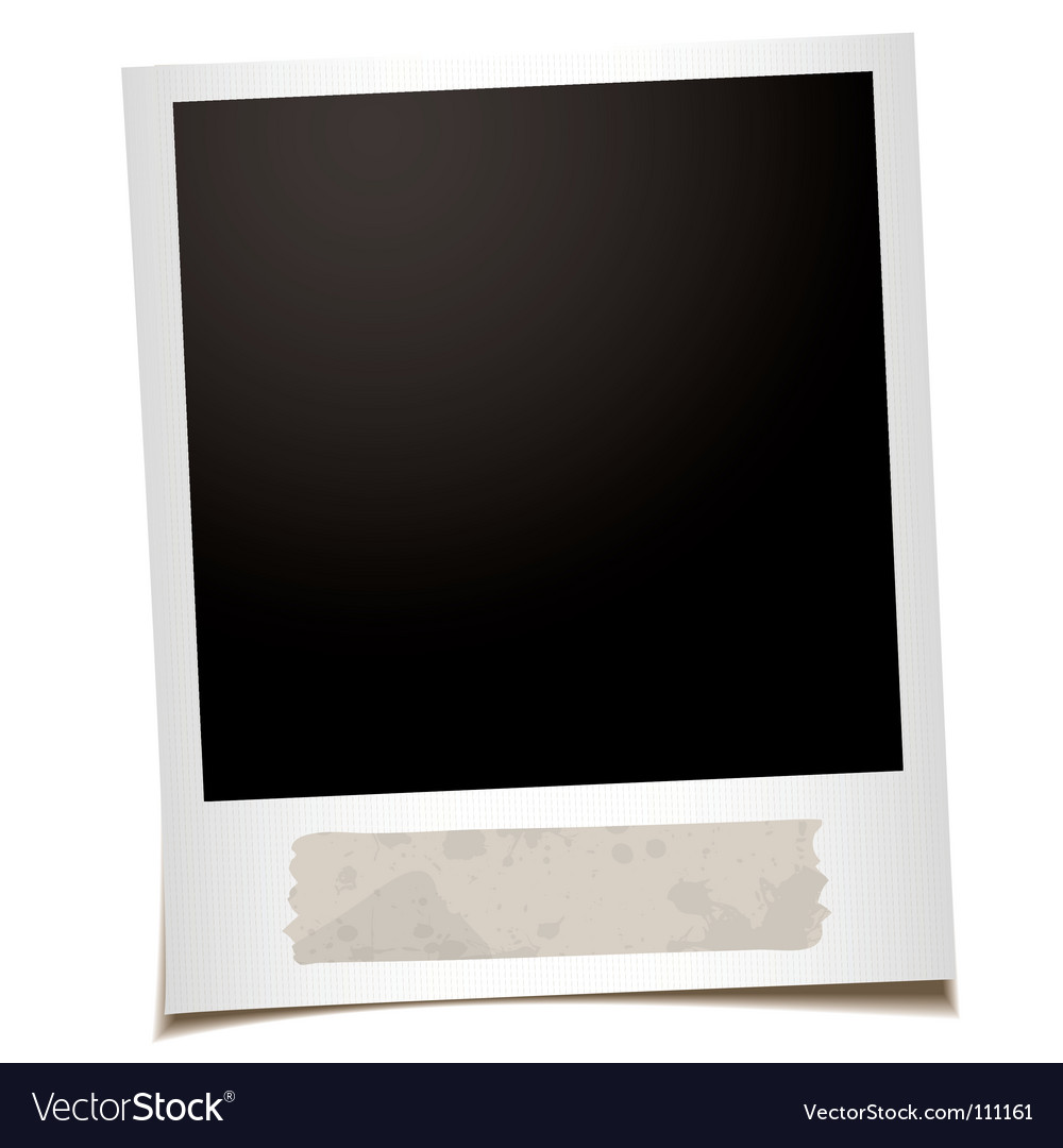 Polaroid vector