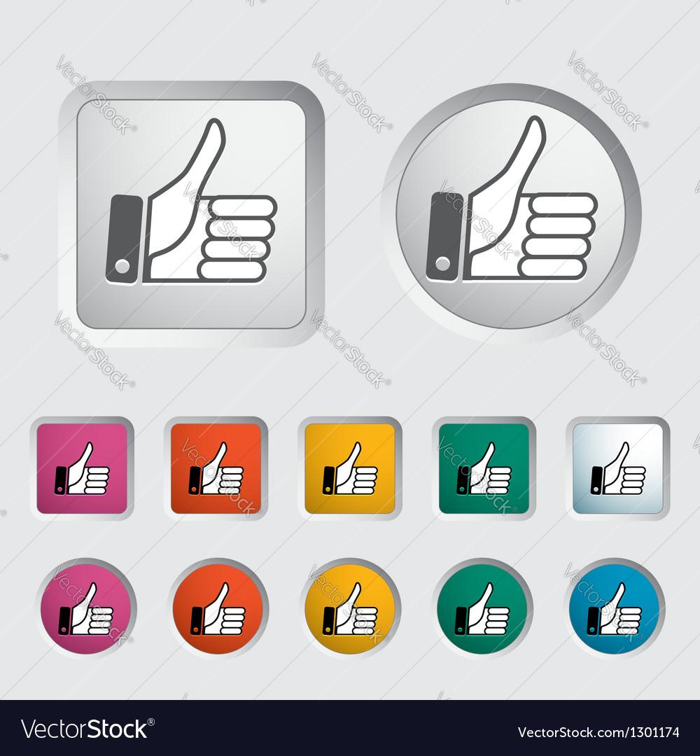Like icon 2 vector