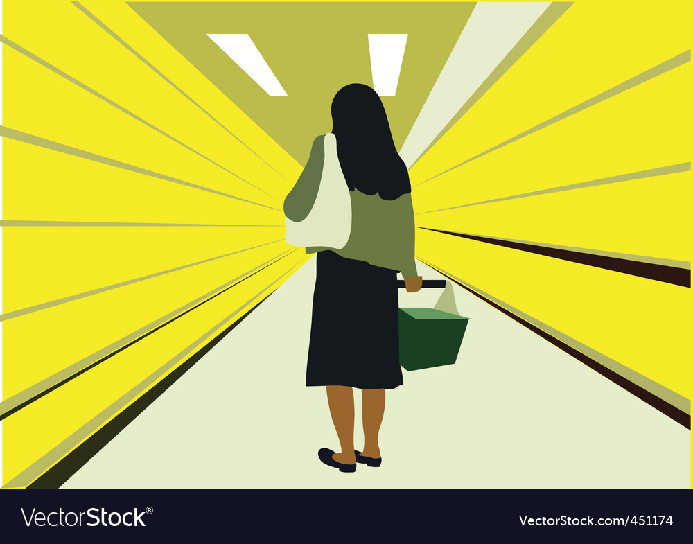 Supermarket vector