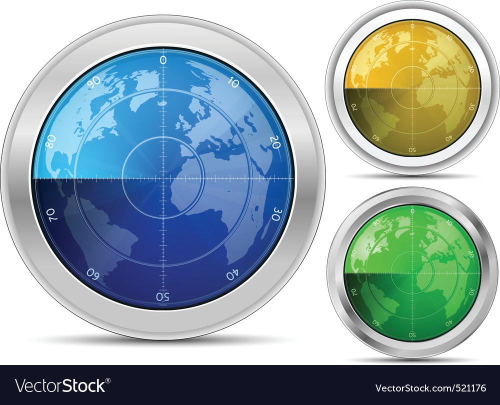 Radar collection vector