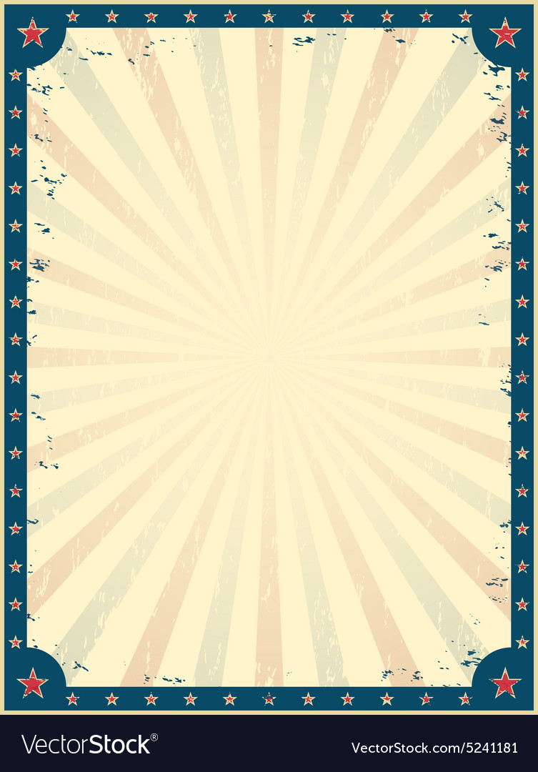 Vintage circus poster template vector by aleksandrs image 5241181