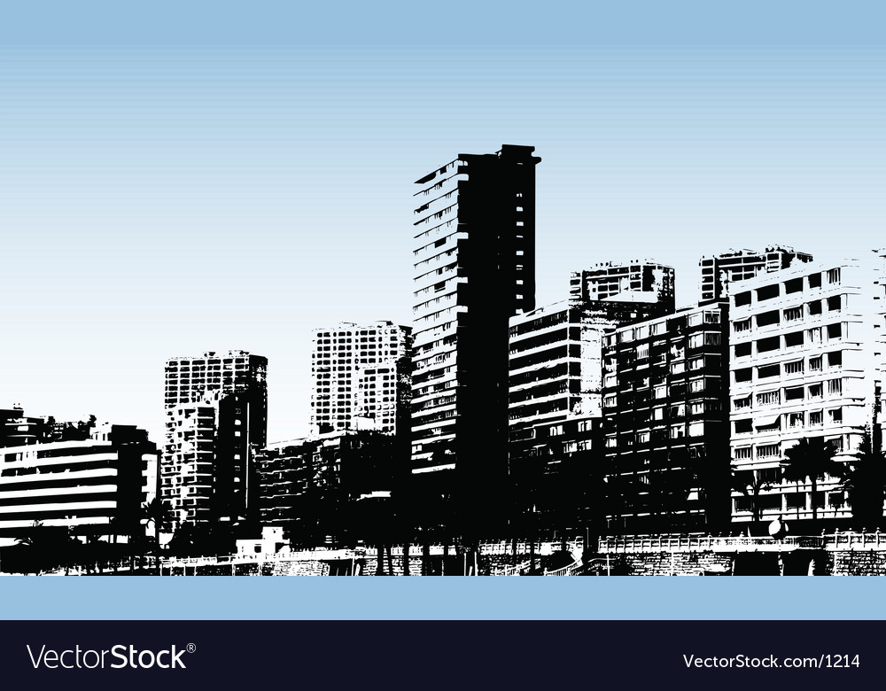 Benidorm design vector
