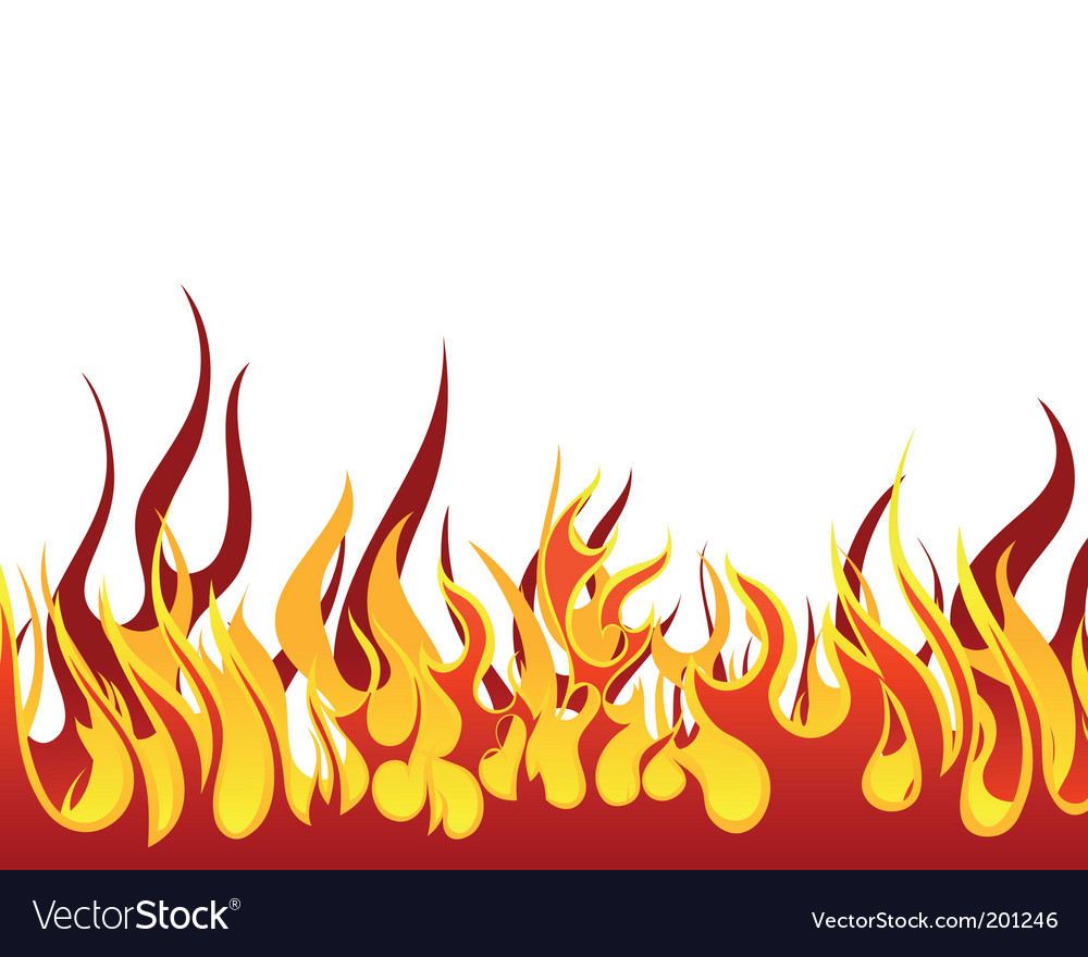 Fire background vector by angelp image 201246 vectorstock