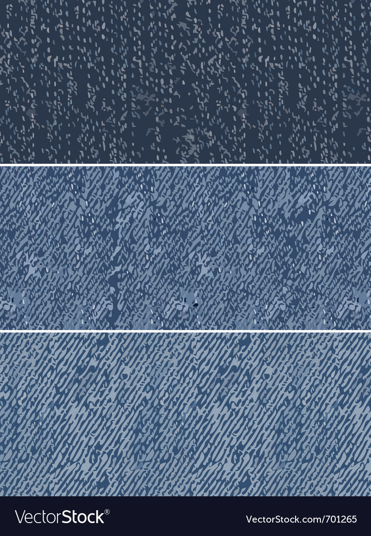 Denim swatches vector