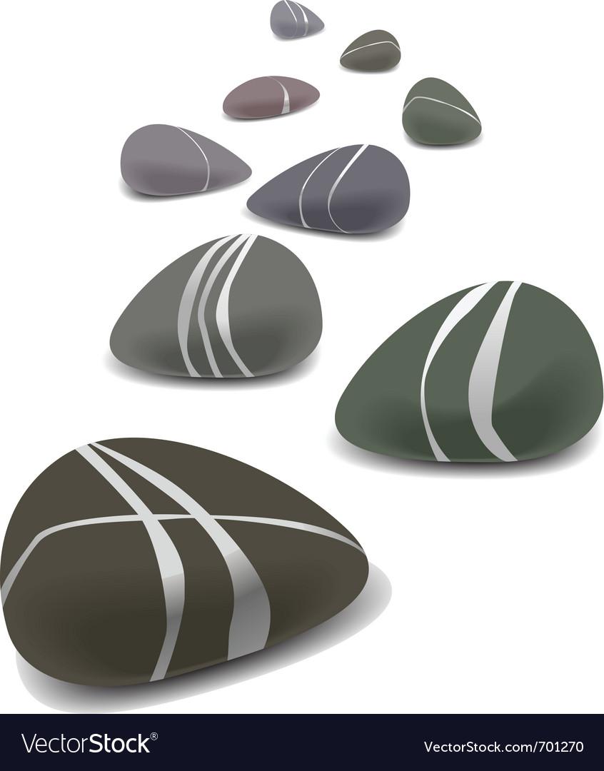 Stones vector
