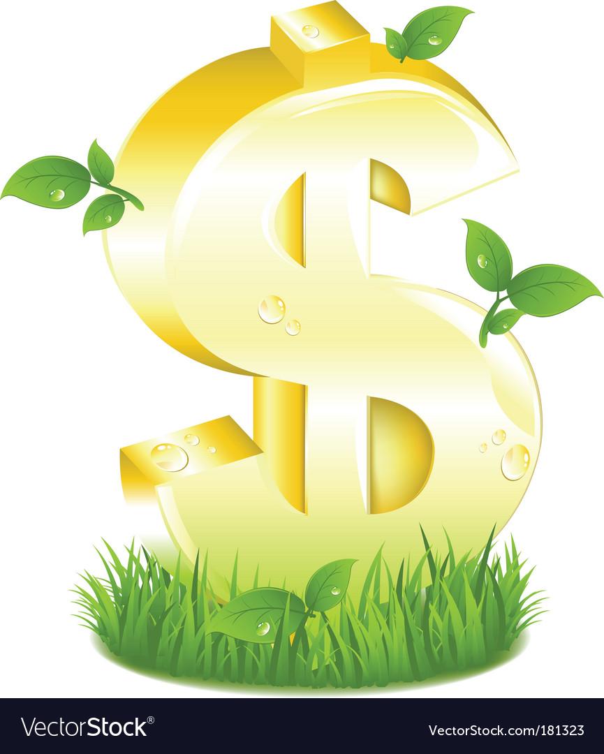 Free dollar symbol vector