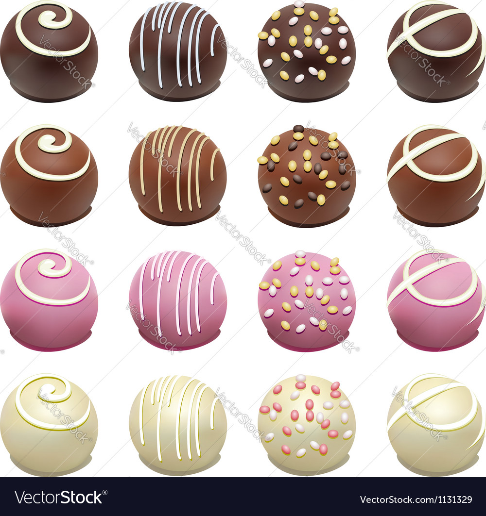 Candies vector
