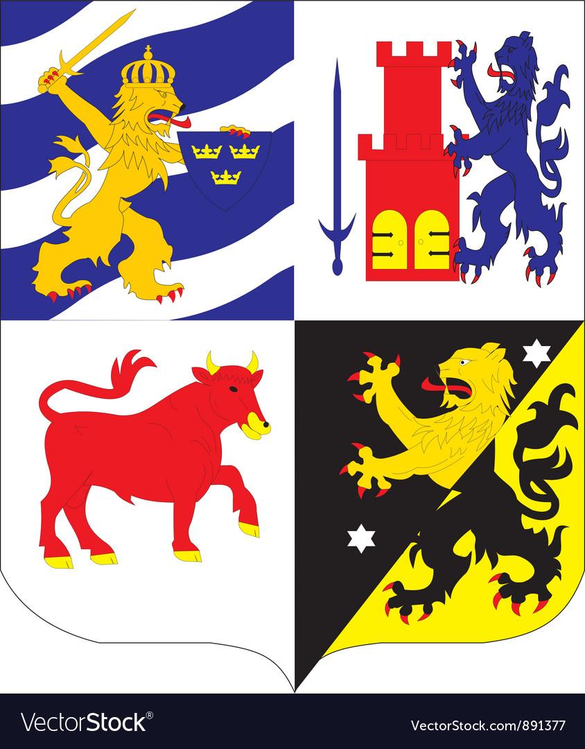 Vastgottland vector