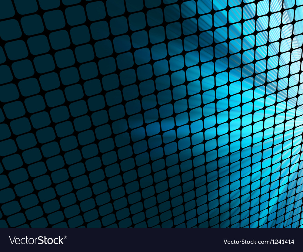 Abstract rays mosaic vector