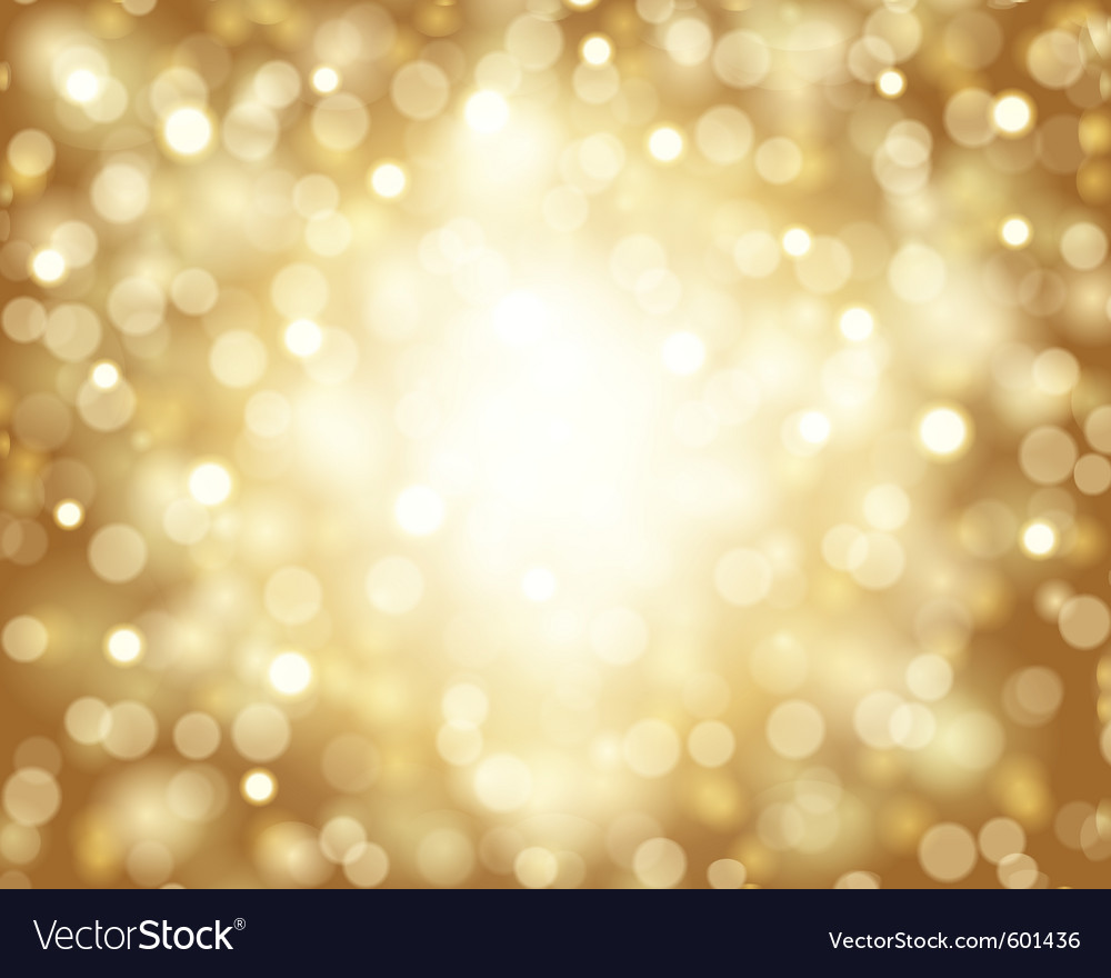 Bokeh card background vector