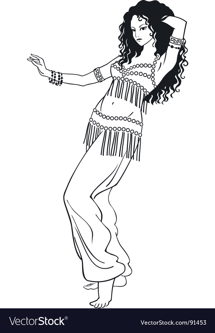 Gallery For > Tribal Belly Dance Clipart