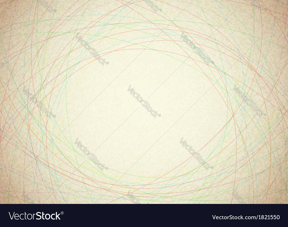 Background with colorful transparent strings vector