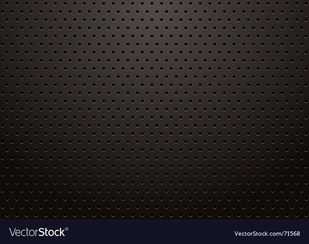 Black grill vector