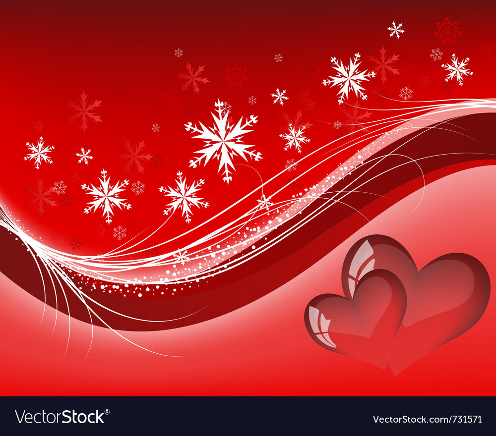 Valentines day background frame vector
