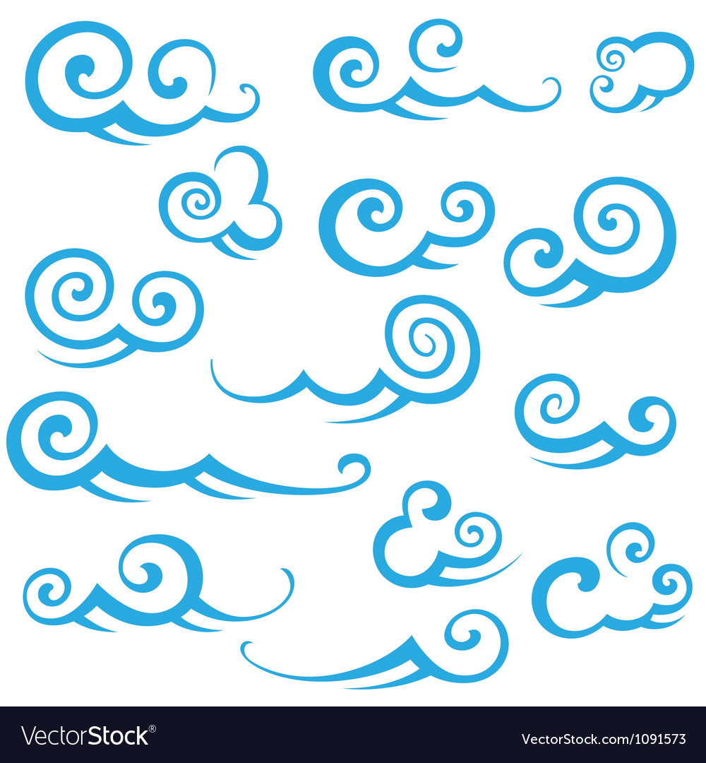 Clouds2 vector