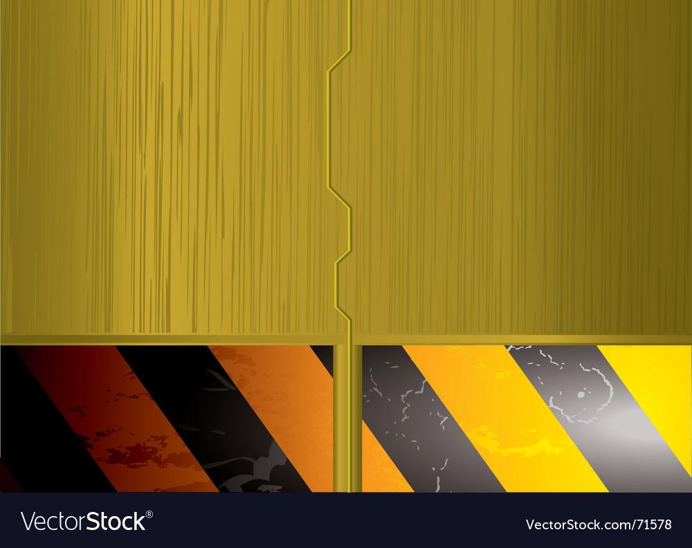 Metal space door  vector