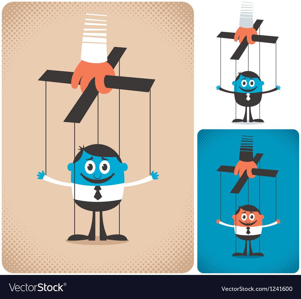 Puppet vector