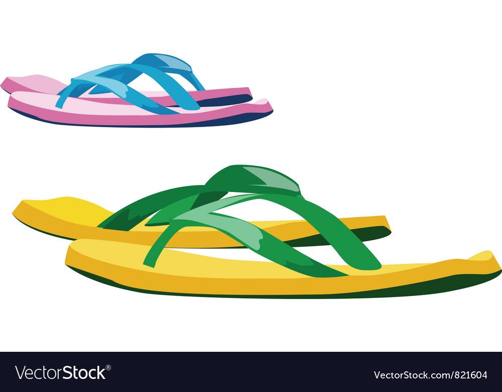 Flip flop vector