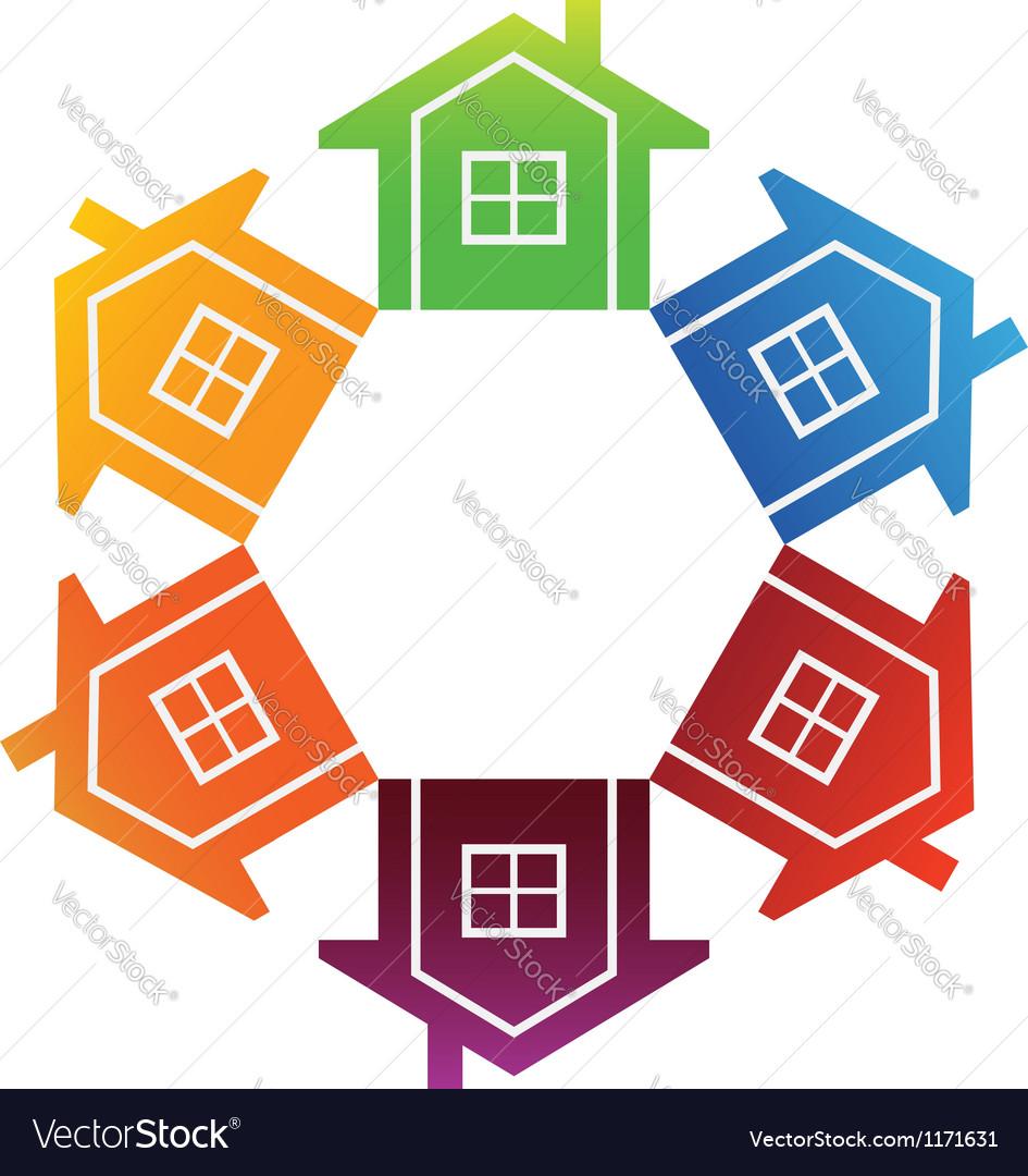 Housing market vector