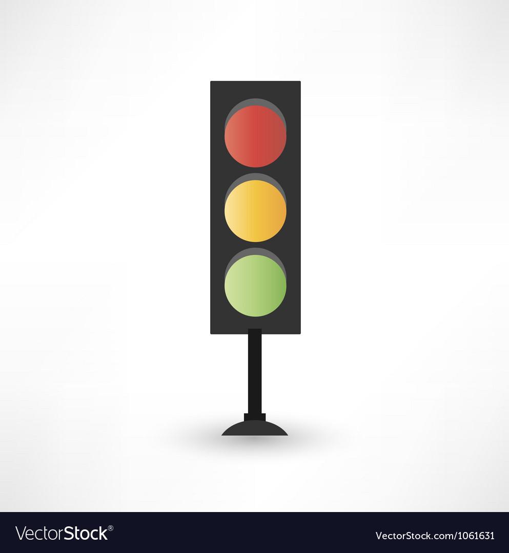 Traffic lights vector