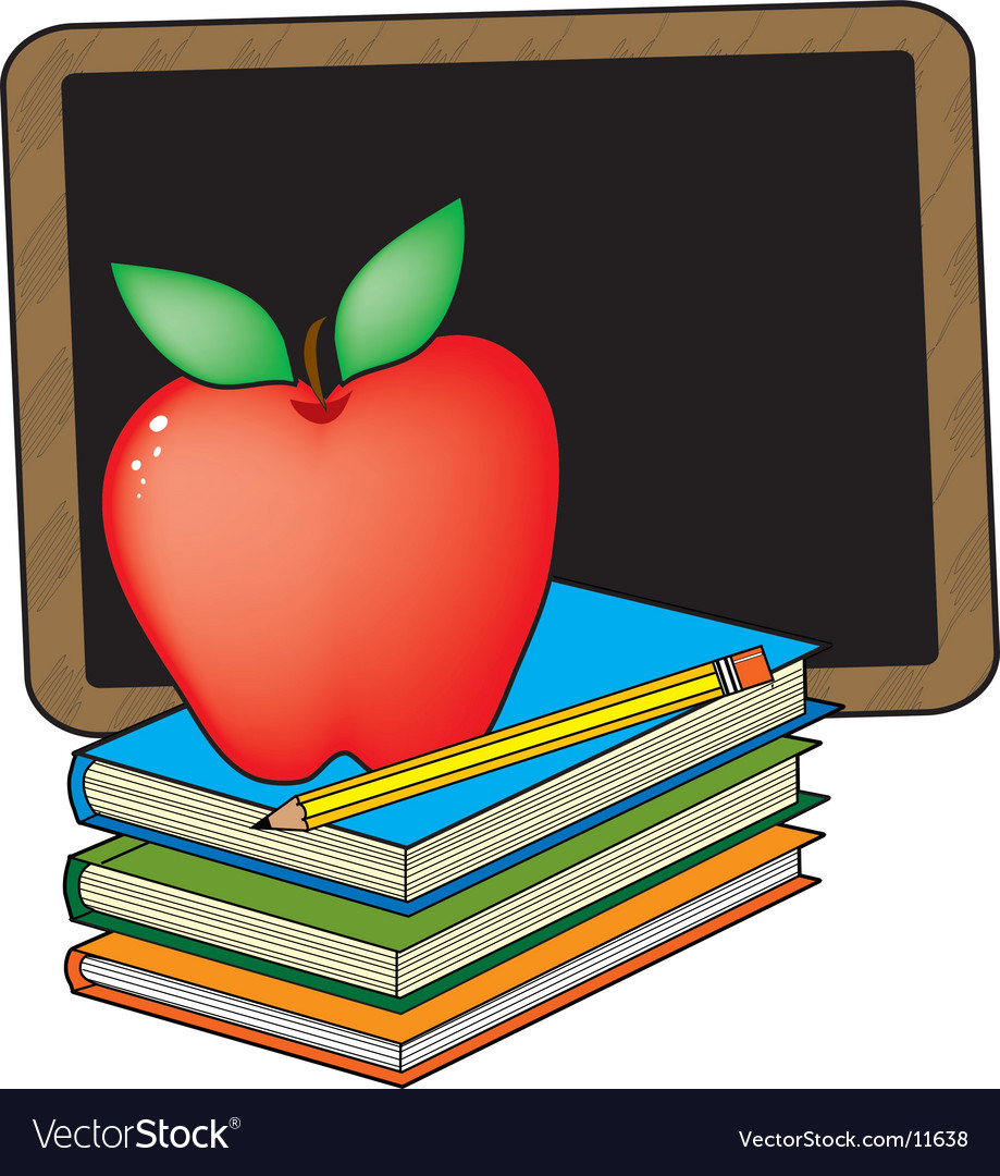 School books vector
