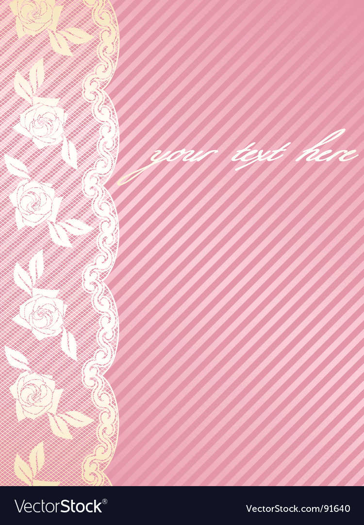 French lace background vector