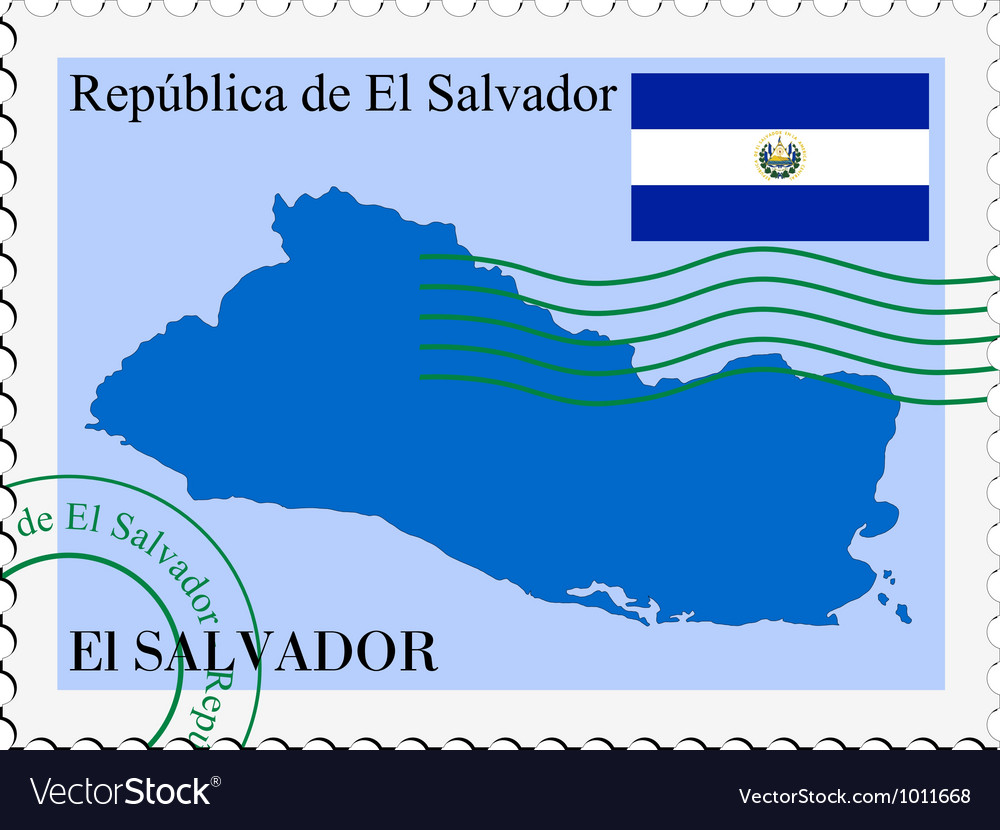 Mail to-from salvador vector