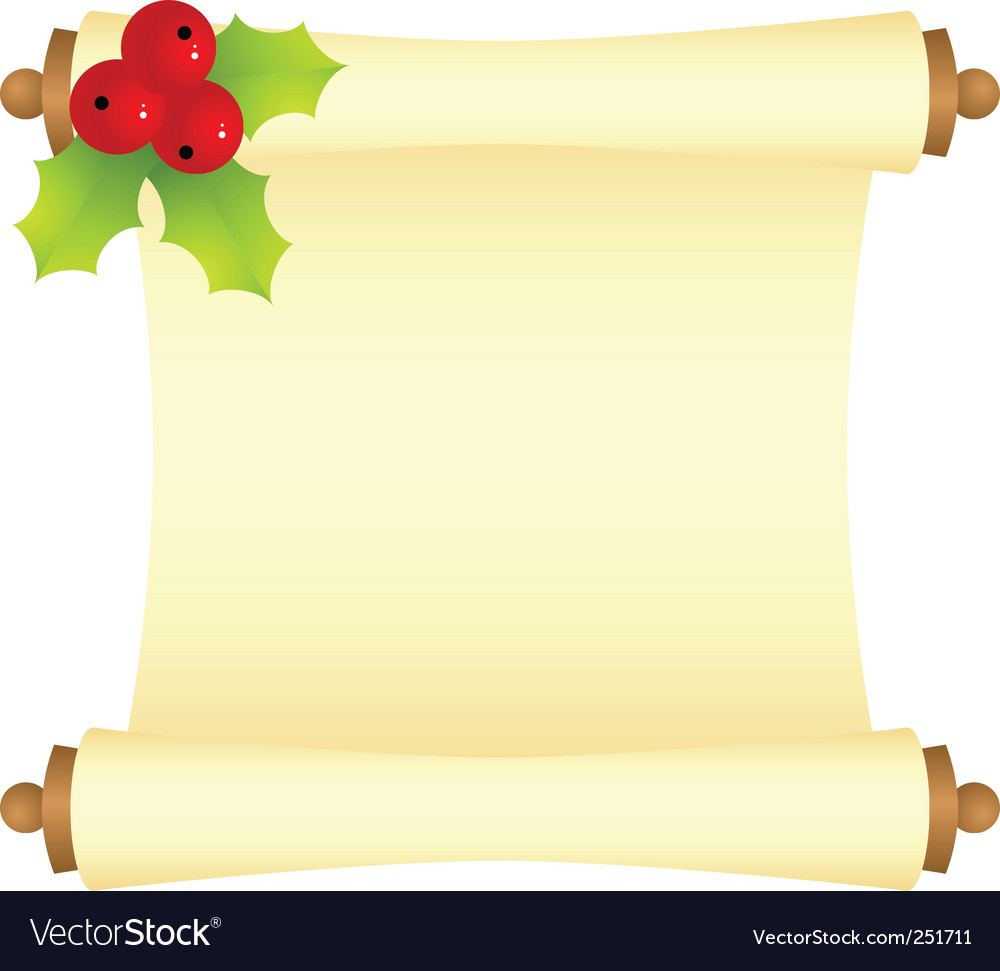 Christmas letter vector by Nete - Image #251711 - VectorStock