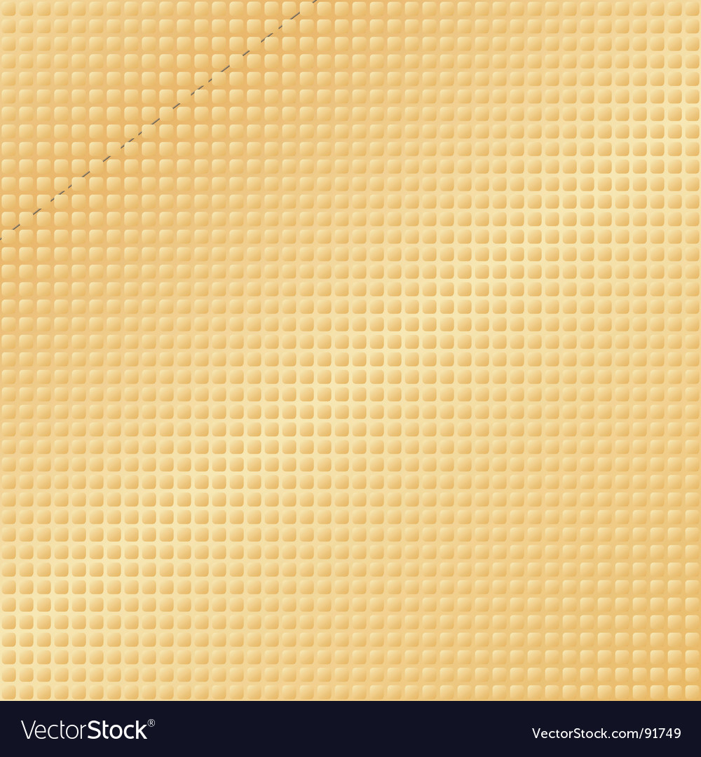 Golden textured pattern vector