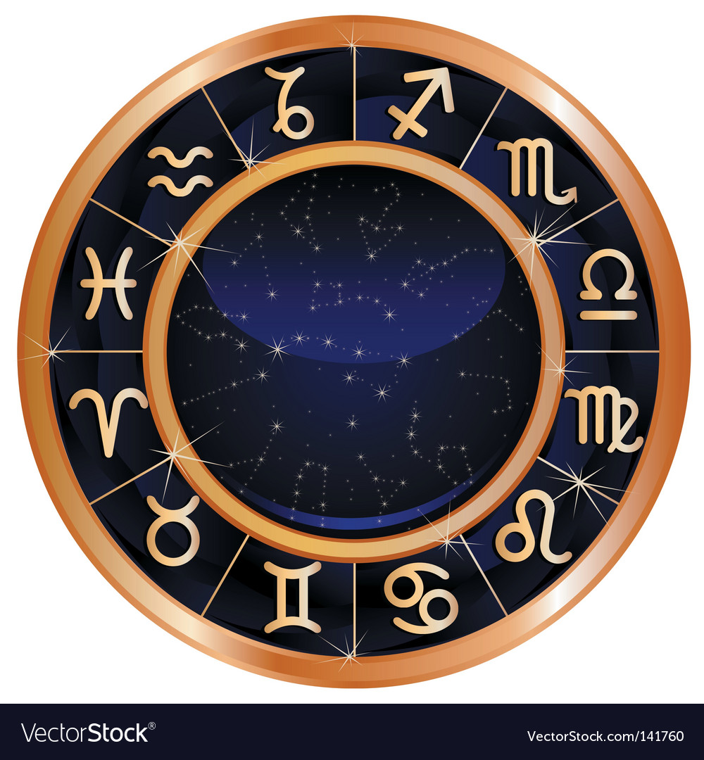 Zodiac sign vector