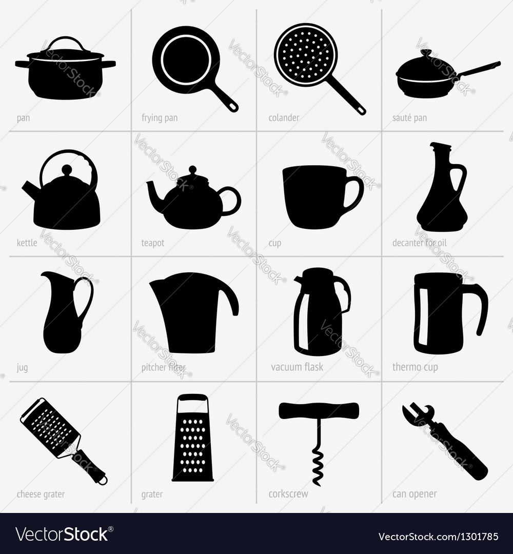 Kitchenware part 2 vector