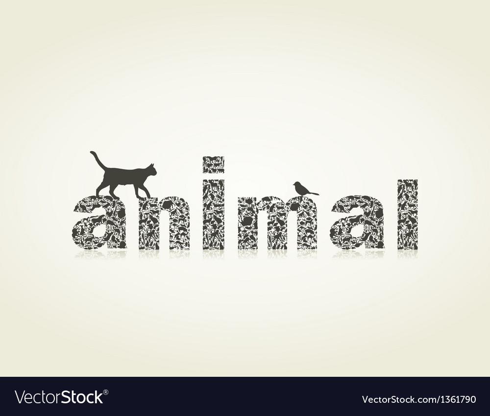 Animal4 vector