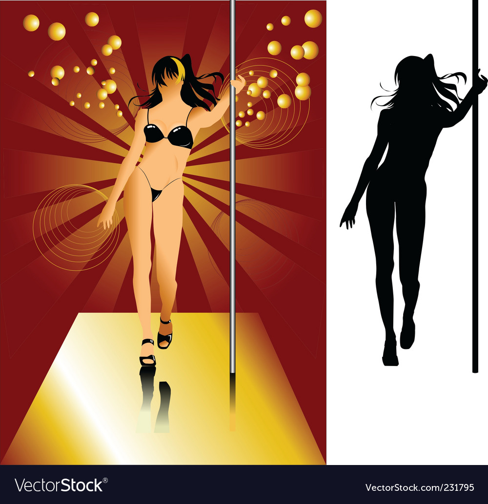 Striptease vector