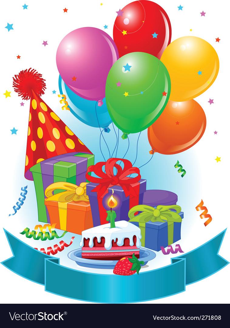 Birthday decorations vector by Dazdraperma - Image #271808 ...