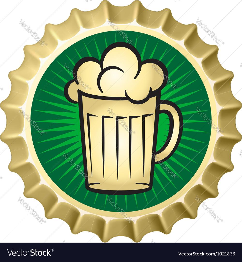 Beer caps vector