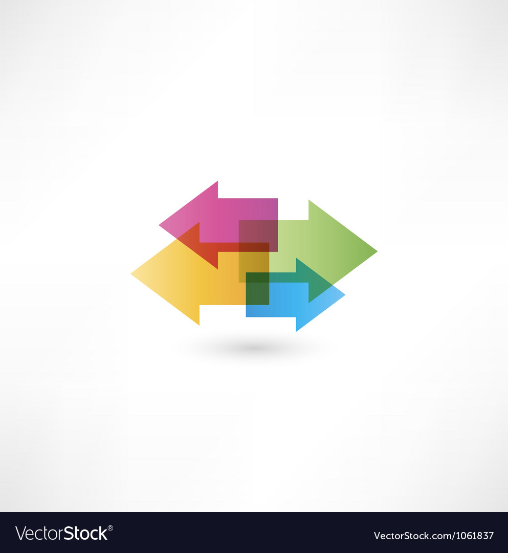 Arrow objects vector