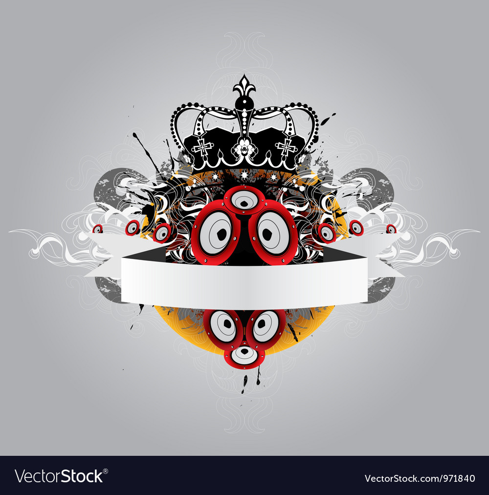 Music poster vector