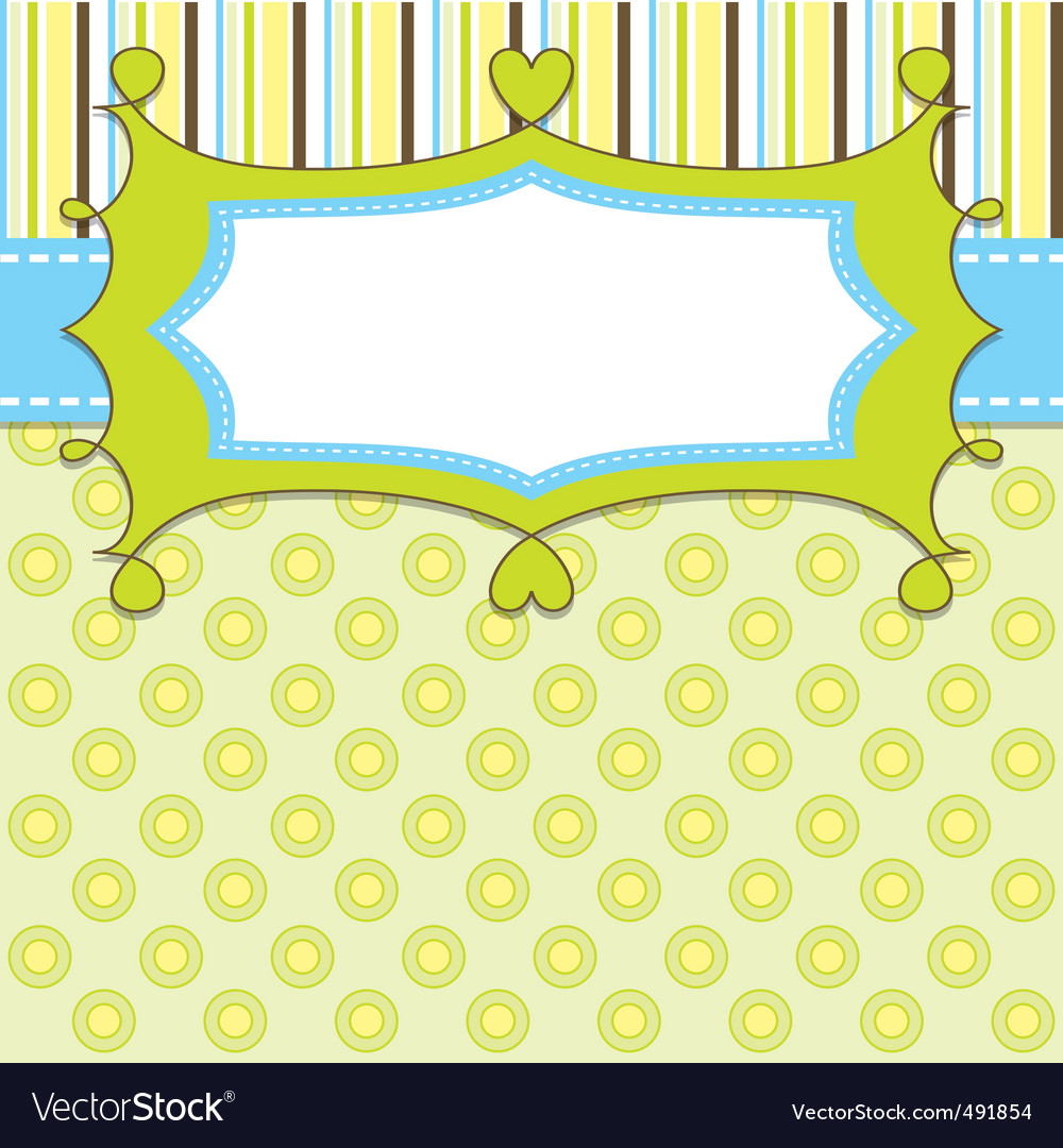 Boy template vector