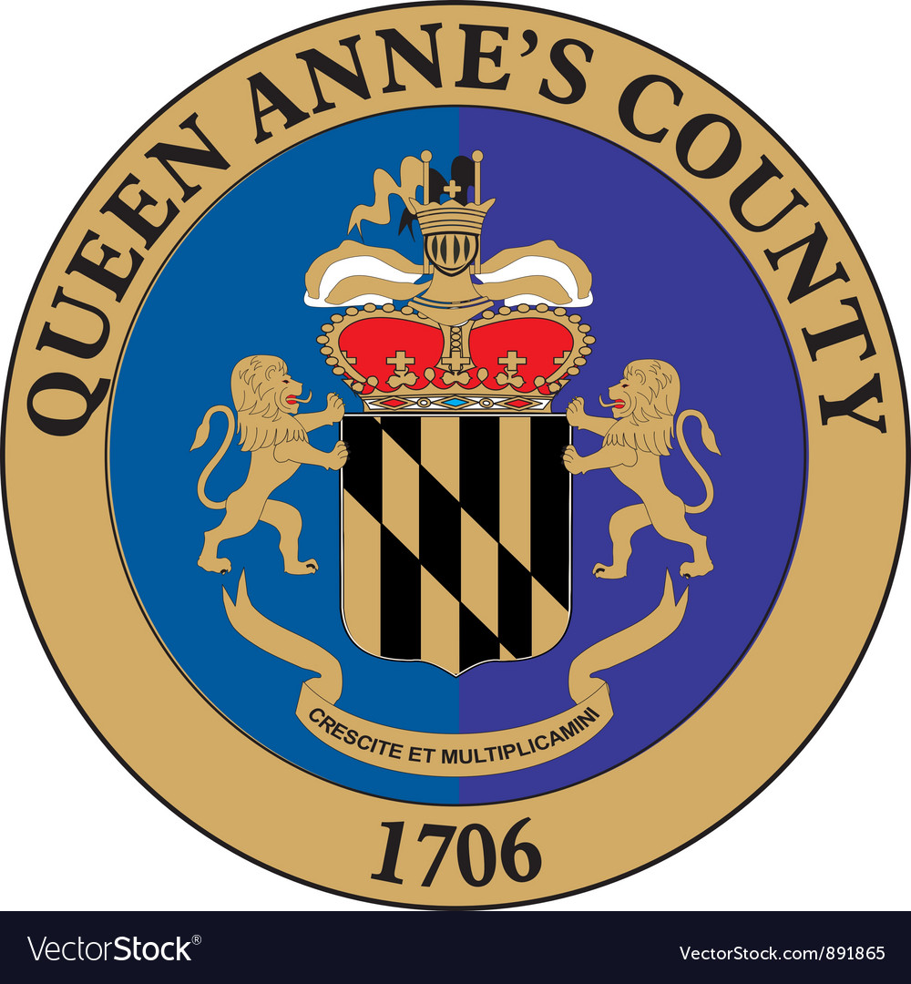 Queen annes county vector