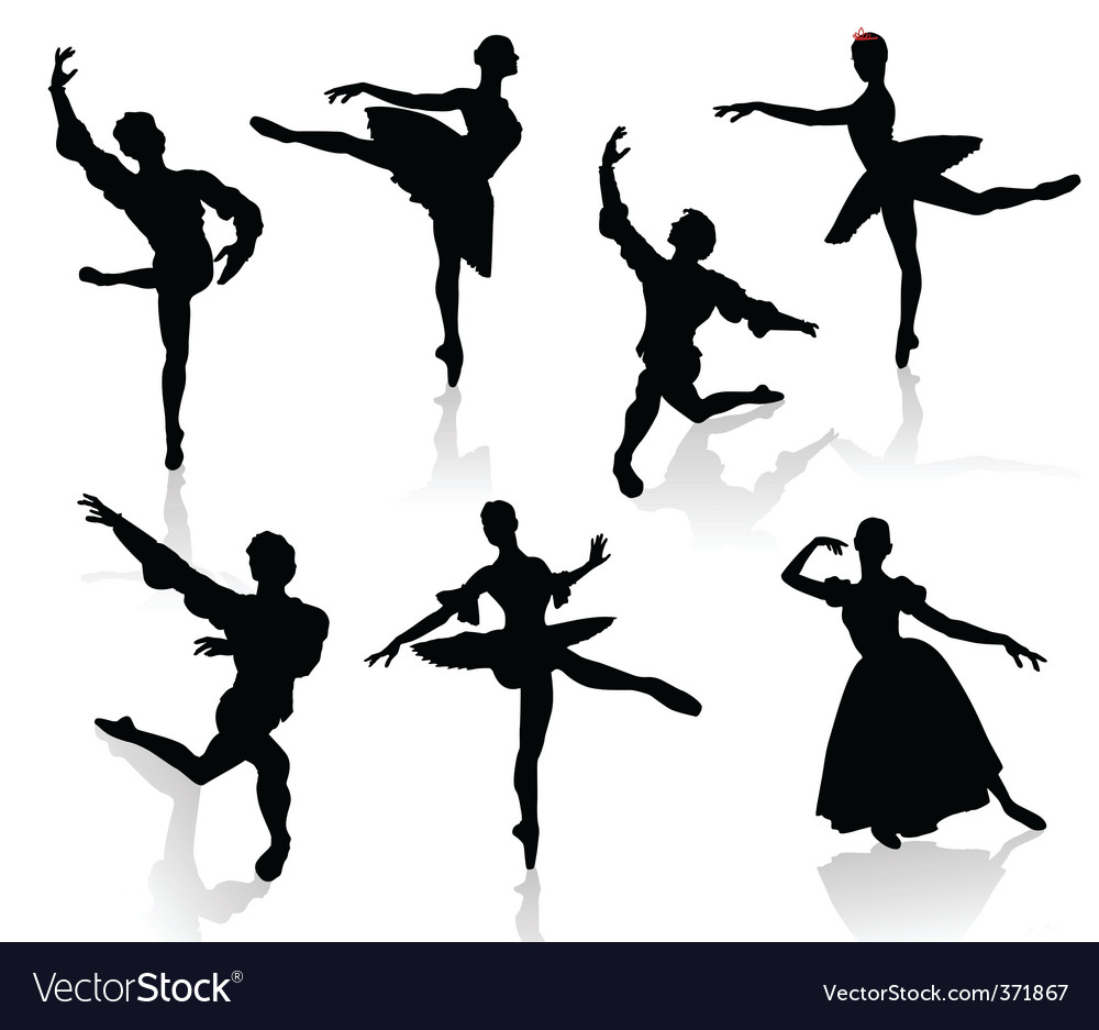 Ballet 3 vector