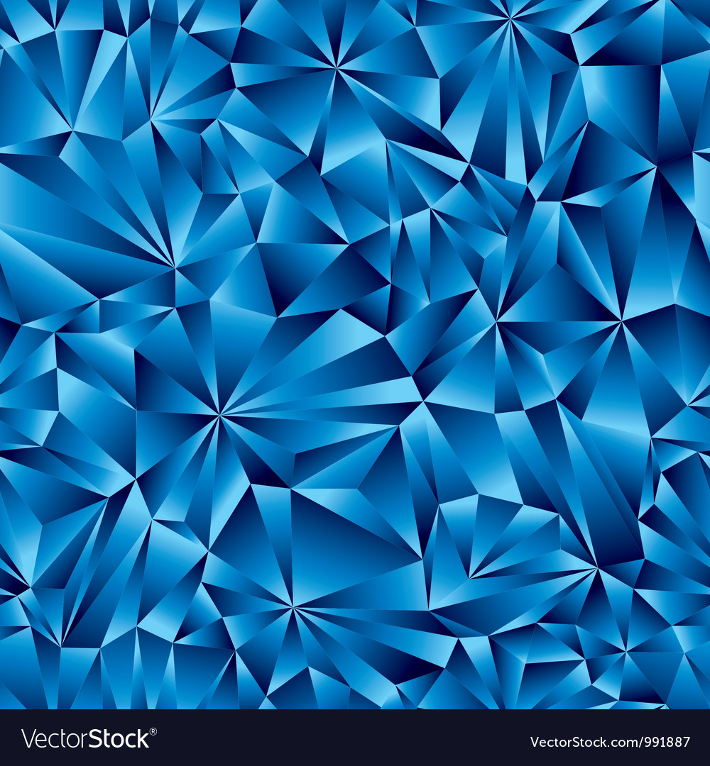 Blue surface seamless pattern vector
