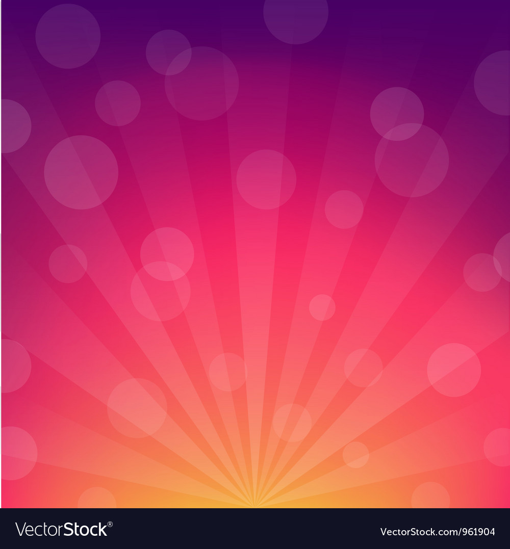 Sunburst background vector