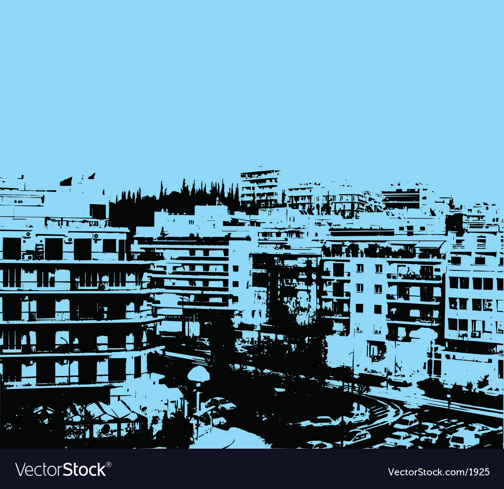 Urban grunge vector