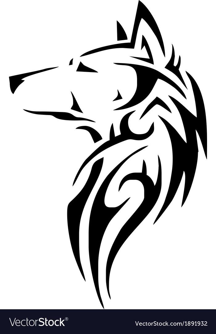 Native American Wolf Symbol Image Information