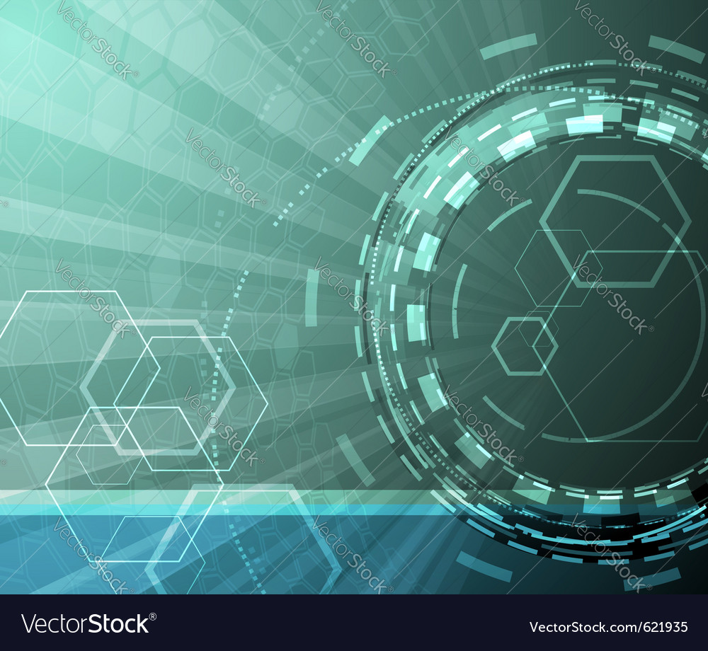 Technological background vector