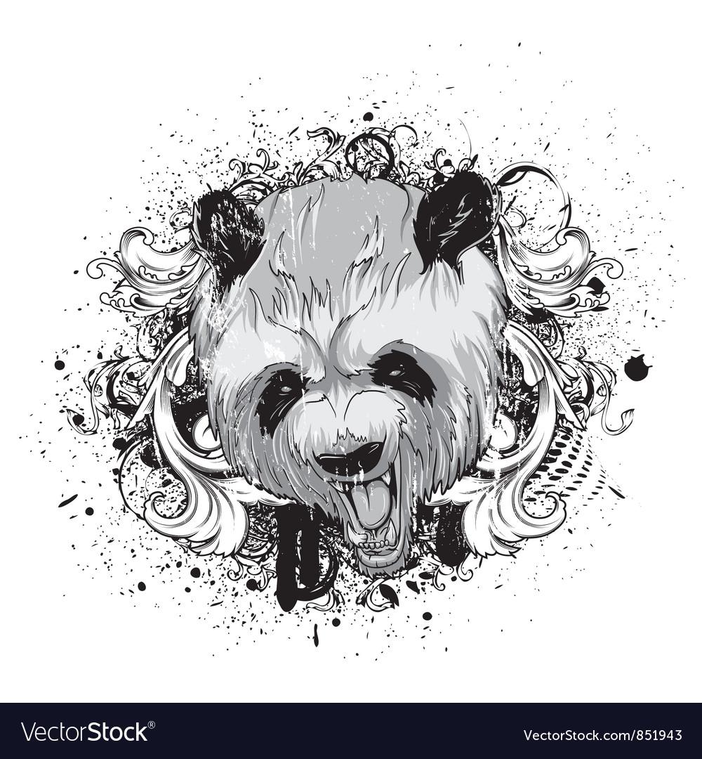 Grunge tshirt design vector
