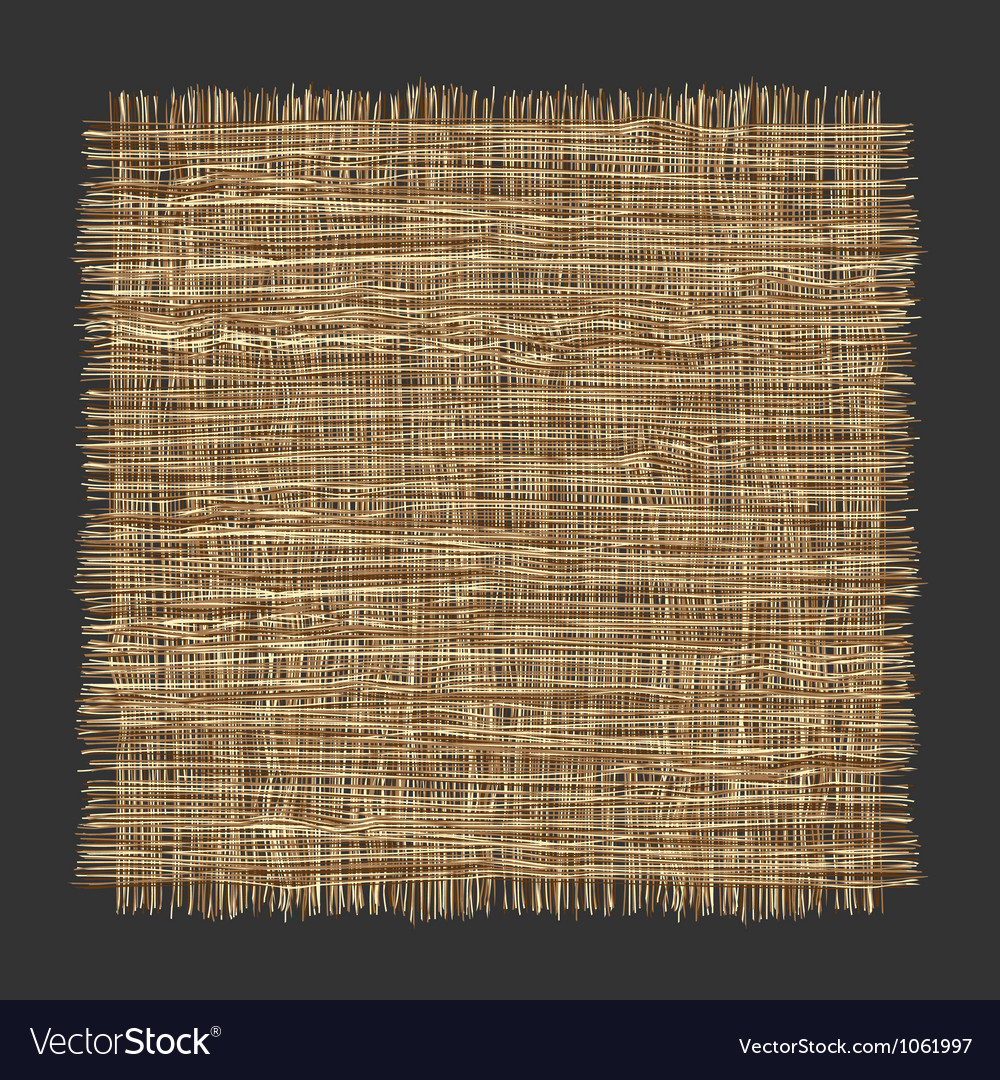 Organic weave pattern vector