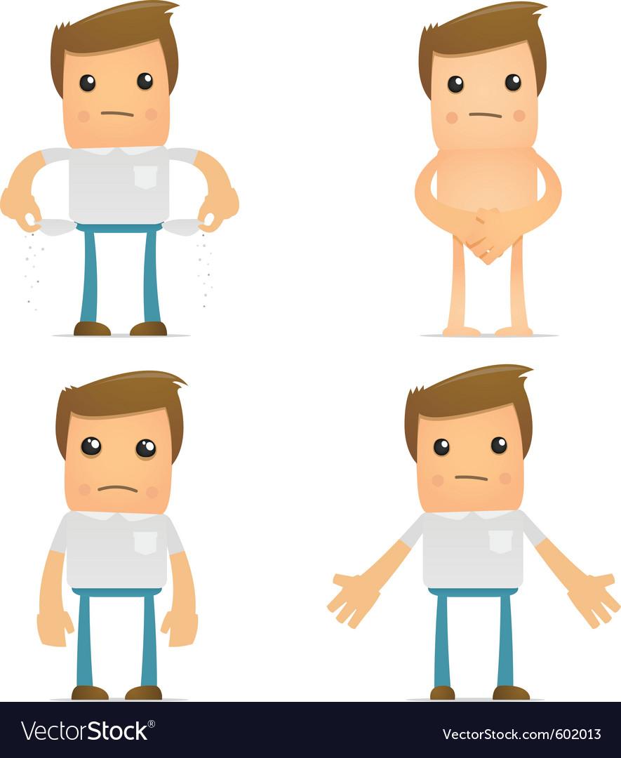 cartoon man vector by artenot   image 602013   vectorstock